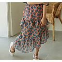cheap Girls' Pants & Leggings-Kids Girls' Floral Skirt