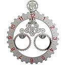 cheap Modern/Contemporary Wall Clocks-Modern / Contemporary Stainless steel Irregular Indoor,AA Batteries Powered Wall Clock