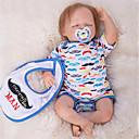ieftine Păpuși-OtardDolls Păpuși Renăscute Bebe Băiețel 18 inch Silicon - Nou nascut natural Confecționat Manual Siguranță Copii Non Toxic Interacțiunea părinte-copil Lui Kid Băieți / Fete Jucarii Cadou