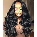 זול פיאות תחרה משיער אנושי-שיער ראמי חזית תחרה פאה שיער ברזיאלי גלי Body Wave פאה 150% צפיפות שיער עם שיער בייבי שיער טבעי קשרים לבנים בגדי ריקוד נשים ארוך פיאות תחרה משיער אנושי