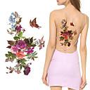 olcso Ideiglenes tetoválás-3 pcs Tetkó matricák ideiglenes tetoválás Virág sorozat Body Arts váll