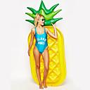 رخيصةأون صواني الخبز-أناناس فواشات للمسبح PVC مضاعف سباحة / الرياضات المائية إلى بالغين 180*90*20 cm