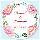 cheap Wedding Decorations-Wedding Stickers, Labels & Tags - 48 pcs Circular Stickers / Envelope Sticker All Seasons