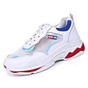 ieftine Mocasini de Damă-Pentru femei Pantofi Cauciuc Vară Confortabili Adidași de Atletism Plimbare Toc Drept Vârf rotund Galben / Rosu