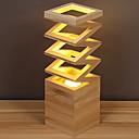 olcso Asztali lámpák-Modern / kortárs Dekoratív Asztali lámpa Kompatibilitás Fa / Bambusz 220-240 V