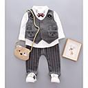 ieftine Top Băieți Bebeluși-Bebelus Băieți Imprimeu Manșon scurt Set Îmbrăcăminte