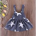 cheap Girls' Dresses-Toddler Girls' Basic Striped Sleeveless Dress Dark Gray