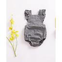 ieftine Set Îmbrăcăminte Bebeluși-Bebelus Unisex De Bază Carouri Fără manșon O - piesă / Copil