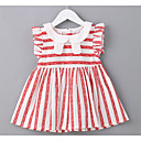 cheap Baby Girls' One-Piece-Baby Girls' Striped Sleeveless Dress