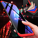cheap Cell Phone Cases & Screen Protectors-Case For OnePlus OnePlus 6 Shockproof Full Body Cases Solid Colored Hard PC for OnePlus 6 / One Plus 5 / OnePlus 5T