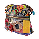 cheap Shoulder Bags-Women's Bags Cowhide Shoulder Bag Tassel Rainbow
