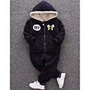 ieftine Set Îmbrăcăminte Băieți Bebeluși-Bebelus Băieți Activ Imprimeu Manșon Lung Bumbac Set Îmbrăcăminte