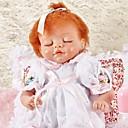 preiswerte Kuchenbackformen-FeelWind Lebensechte Puppe Baby Mädchen 18 Zoll lebensecht Umweltfreundlich Handgefertigt Kindersicherung Non Toxic Eltern-Kind-Interaktion Kinder Mädchen Spielzeuge Geschenk
