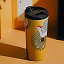 ieftine Lămpi de vid și termose-Drinkware PP+ABS / De fier inoxidabil Cupa vid Portabil / Desene Animate / Reținerea de căldură 1 pcs