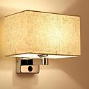 olcso Fali rögzítők-Modern / kortárs Fali lámpák Nappali szoba / Hálószoba Fa / Bambusz falikar 220-240 V 40 W