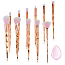 cheap Eyeshadows-11pcs Makeup Brushes Professional Makeup Brush Set Nylon fiber Eco-friendly / Soft Plastic