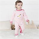 ieftine Set Îmbrăcăminte Bebeluși-Bebelus Unisex Activ Zilnic Imprimeu Manșon Lung Bumbac O - piesă Roz Îmbujorat 90