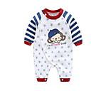 cheap Baby Boys' One-Piece-Baby Boys' Print Long Sleeve Romper