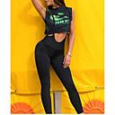 abordables Pelucas Sintéticas con Agarre-Mujer Deportivo Legging - Un Color Alta cintura / Look deportivo