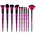 cheap Makeup Brush Sets-10-Pack Makeup Brushes Professional Makeup Brush Set Eco-friendly / Soft Plastic