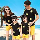 ieftine Set Îmbrăcăminte De Familie-Familie Uite Galaxie Manșon scurt Set Îmbrăcăminte