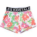 זול הלבשה תחתונה וגרביים לתינוקות-תחתונים וגרביים פרחוני בסיסי בנות תִינוֹק / פעוטות