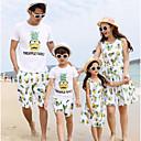 ieftine Set Îmbrăcăminte De Familie-Familie Uite Fruct Manșon scurt Set Îmbrăcăminte