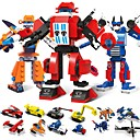 cheap Electronic Learning Toys-Building Blocks 1173 pcs Vehicles Robot Transformable Stress and Anxiety Relief Relieves ADD, ADHD, Anxiety, Autism Boys' Girls' Toy Gift