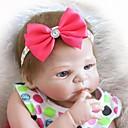 זול בובה מחדש-NPKCOLLECTION NPK DOLL בובה מחדש בובת נערה תינוקות בנות 24 אִינְטשׁ גוף מלא סיליקון ויניל - כְּמוֹ בַּחַיִים מתנה שתל מלאכותי עיניים כחולות הילד של בנות צעצועים מתנות