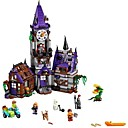 baratos Blocos de Montar-Blocos de Construir 860 pcs Mansão do Mistério de Scooby Doo Requintado Todos Brinquedos Dom