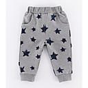 ieftine Pantaloni Bebeluși-Bebelus Fete Activ Galaxie Imprimeu Bumbac Pantaloni / Copil