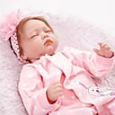 ieftine Păpuși-FeelWind Păpuși Renăscute Bebe Fetiță 22 inch natural Lui Kid Fete Jucarii Cadou