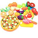olcso Játékkonyhák és ételek-Játék konyha készletek Szerepjátékok Élelem Gyümölcs Szülő-gyermek interakció Műanyag ház Iskola előtti Összes Fiú Lány Játékok Ajándék 24 pcs