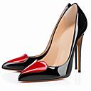 זול נעלי עקב לנשים-בגדי ריקוד נשים נעליים PU אביב קיץ בלרינה בייסיק עקבים עקב סטילטו בוהן מחודדת לבן / שחור / עירום / מסיבה וערב