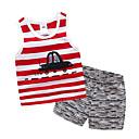 cheap Toilet Brush Holder-Toddler Boys' Striped Sleeveless Clothing Set