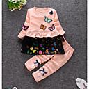 ieftine Set Îmbrăcăminte Bebeluși-Bebelus Fete Mată Manșon Lung Set Îmbrăcăminte