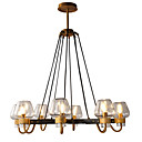 cheap Ceiling Lights-LWD 8-Light Candle-style / Sputnik Chandelier Uplight - New Design, Candle Style, 110-120V / 220-240V Bulb Not Included