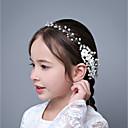 رخيصةأون مجوهرات الشعر-سبيكة فرش تمشيط للشعر مع حجر كريم 1 قطعة زفاف / مناسبة خاصة خوذة