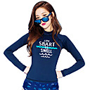 halpa Märkäpuvut, sukelluspuvut ja suoja-asut-SBART Naisten Elastaani SPF50 UV-aurinkosuojaus Nopea kuivuminen Pitkähihainen Sukellus Piirretty Muoti Kevät Kesä Syksy