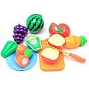 olcso Játékkonyhák és ételek-Szerepjátékok Élelem Gyümölcs Szülő-gyermek interakció Műanyag ház Iskola előtti Fiú Lány Játékok Ajándék 10 pcs
