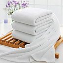 cheap Blankets & Throws-Superior Quality Bath Towel, Solid Colored Poly / Cotton 3 pcs