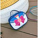 baratos Bolsas de Maquiagem-PU Bolsa de Cosmético Estampa Azul Escuro / Azul Pálido / Rosa claro