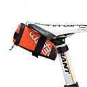 baratos Linhas de Pesca-0.6 L Bolsa para Bagageiro de Bicicleta Portátil, Á Prova-de-Chuva, Fácil de Instalar Bolsa de Bicicleta Pele / PVC / 400D Nylon Bolsa de Bicicleta Bolsa de Ciclismo Moto