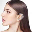 abordables Pulseras-Mujer Elegante Puños del oído - Creativo, Espiga Elegante, De Gran Tamaño Plata Para Noche y ocasiones especiales / Mascarada