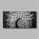 billige Abstrakte Malerier-Hang-Painted Oliemaleri Hånd malede - Abstrakt Moderne Omfatter indre ramme / Stretched Canvas