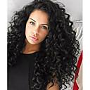 זול פיאות תחרה משיער אנושי-שיער ראמי חזית תחרה פאה שיער ברזיאלי מתולתל פאה תספורת שכבות 130% שיער טבעי / לנשים שחורות שחור בגדי ריקוד נשים ארוך פיאות תחרה משיער אנושי