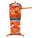 cheap Camp Kitchen-Fire-Maple Camping Cookware Mess Kit / Camping Stove Sports & Leisure Bag Windproof / Lightweight Aluminum / Rubber silicon / Stainless steel Outdoor for Hiking / Downhill Orange