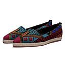 ieftine Sandale de Damă-Pentru femei Pantofi Piele de Porc Vară Confortabili Pantofi Flați Toc Drept Vârf ascuțit Negru