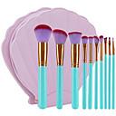 preiswerte Wimpern Accessoires-10-Pack Makeup Bürsten Professional Bürsten-Satz- Umweltfreundlich / Weich Plastik