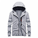 cheap Smartwatches-Men's Basic Hoodie - Solid Colored